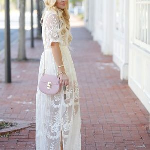 Nordstrom Lace Overlay Romper